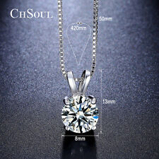 Luxury Gold Plated Crystal Pendant Chunky Statement Link Chain Choker Necklace
