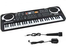 Einsteiger Keyboard Mikrofon 61 Tasten Netzteil Lernfunktion #4687