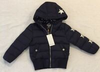 Toddler Boy Girl Navy Puffer Jacket  Pumpkin Patch Size 3   BRAND NEW WITH TAGS