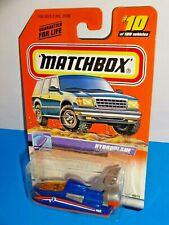 Matchbox 1999-00 Release #10 Hydroplane Blue & Orange