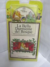 LA BELLA DURMIENTE DEL BOSQUE LIBRO Y AUDIO CD CUENTOS ESPANOL ILUSTRADO