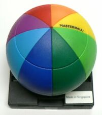 1990s Vintage GEOMASTER MASTERBALL RAINBOW PUZZLE ~ Challenging ~ BRAND NEW!