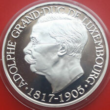 """Luxembourg-Luxemburg: 1997 PP-Proof Silber, 25 Ecu, """"Adolphe"""", F#  0362"""