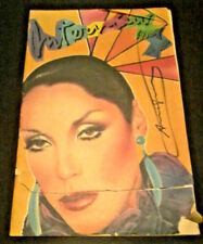 SIGNED ANDY WARHOL INTERVIEW MAGAZINE COVER OCTOBER, 1980 POP ART MARIA SCHIANO