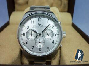 Lucien Piccard Orologio cronografo di lusso per uomo acciaio quartz