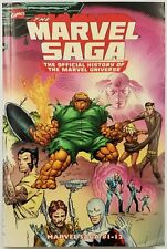Marvel Essential: Marvel Saga Vol 1 The Official History of the Marvel Universe