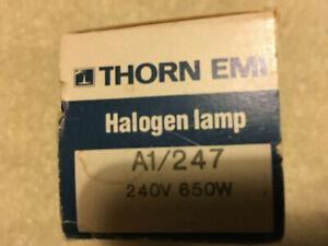 Thorn A1/247 Halogen lamp. NOS.