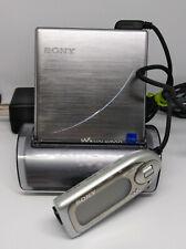 Sony Walkman MZ-EH1 HiMD Portable MiniDisc player *Works*