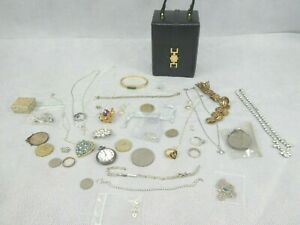 Job Lot of Costume Jewellery Various Items and Styles Necklace Bracelet Earrings