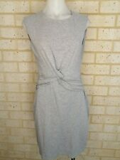 SEED heritage size Small Basic Grey body con dress