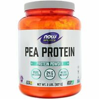 Now Foods Sports Pea Protein Natural Unflavored 2 lbs 907 g Dairy-Free, GMP