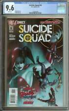 SUICIDE SQUAD #6 CGC 9.6 WHITE PAGES