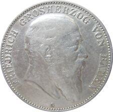 J 33  5 Mark BADEN  Friedrich von 1904 G  in SS  663 018