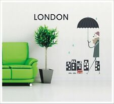 Stunning Removable Wall Stickers Vinyl - London Morning SA-12-014
