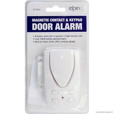 MAGNETIC DOOR ALARM CONTACT KEYPAD SECURITY CODE LOUD GARAGE SHED HOME CARAVAN