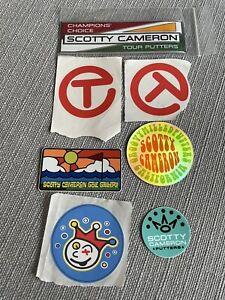 Scotty Cameron Stickers