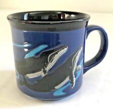 Humpback Whale Mug Stoneware Pottery Japan Otagiri Nautical Ocean T Taylor