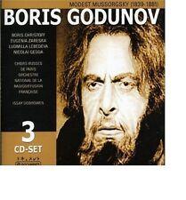 Mussorgsky  Boris Godunov Issay Dobrowen  Christoff, Gedda Zareska Lebedeva 3CD