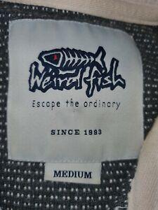 Wierd Fish Full Zip Jumper Size Medium