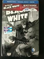 New! Batman Gotham Knight Blu-ray/DVD 2-Disc Set + Batman: Black and White Book