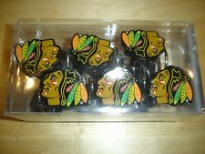 New NHL Chicago Blackhawks shower curtain rings hooks set of 12 Northwest Co.