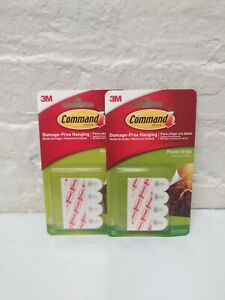 Command Poster Hanging Strips, White 12 ea (Pack of 2)