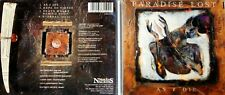 PARADISE LOST As I Die Maxi EP CD (Shades of God) Gothic Death Metal sehr guter