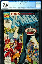 Uncanny X-Men #273 CGC GRADED 9.6 - second highest - Gambit/Jubilee/Forge join