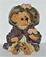 1999 Boyds Bear & Friends, The Bearstone Collection, Style #228315 - Mrs. Tuttle