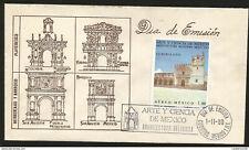 J) 1980 MEXICO, YURIRIA, CHURCHES, HERRERIANO AND BARROCO, PLATERESCO, ART AND S