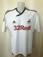 Swansea City 2011/2012 Home Size XL Adidas shirt jersey football soccer maillot