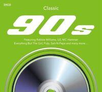 Classique 90's 2015 3-CD Digipak Neuf / Scellé Robbie Williams UB40 U2
