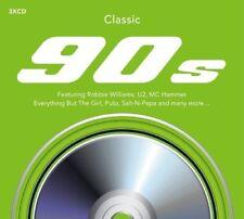 Clásico 90's 2015 3-cd Digipak Nuevo / Sellado Robbie Williams UB40 U2