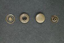 500 nähfrei Druckknöpfe Druckknopf 10,5mm messing