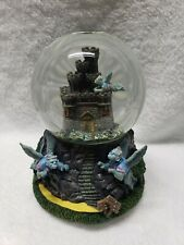 The San Fransisco Music Box Company Lighted Globe Oz Wicked Witch Castle Wg