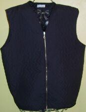 04 ) Tolle Schwarze Damen Winter Weste Gr. XL  der Firma H & M collection