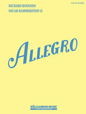 Allegro Rodgers & Hammerstein Musical Vocal Score Piano Sheet Music Book