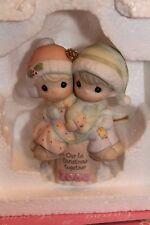 2004 Precious Moments Our First Christmas Together Porcelain Nib Ornament