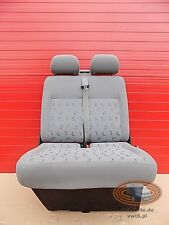 VW T5 Seat front bench double Transporter LLL Sitzbank folding