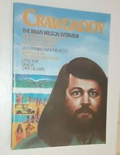 Original Vintage June 1976 Crawdaddy Magazine Brian Wilson Beach Boys