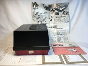 """Vintage """"Garcia Mitchell """"309"""" Spinning Reel Box and Instructions! BOX ONLY!"""