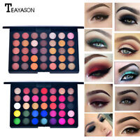 35 Colors Shimmer Matte Eye Shadow Eyeshadow Palette Pro Cosmetic Makeup AU