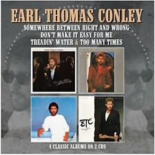 Earl Thomas Conley - Somewhere Between Right & Wrong / Don't Make It Easy For Me