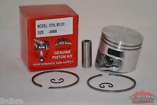 PISTON KIT FITS STIHL MS391, 49MM BORE, REPLACES PART # 1140-030-2008, NEW