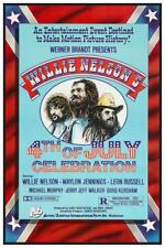 Willie Nelson POSTER - Picnic BBQ Film 4th of July Waylon Jennings Leon Russell