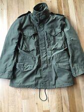 U.S. Army Jacket Coat Cold Weather Field OG-107 Small Regular Vietnam Era