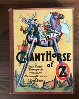 THE GIANT HORSE OF OZ L. Frank Baum 1st /1st State 1928 12 Color Plates