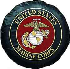 Marine Corps Marines USMC Vinyl Spare Tire Cover (Fits 32 inch Tire brand new!)