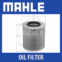 Mahle Oil Filter OX166/1D - Fits BMW 1, 3 Series - Genuine Part