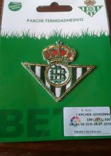 Iron on Patch - Real Betis Official Product